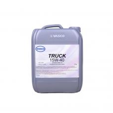 Минеральное моторное масло 15w40 VASCO TRUCK 20 л