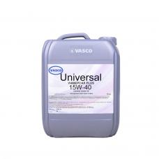 Масло 15w40 VASCO Universal Plus 10 л