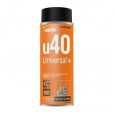 Многофункциональный аэрозоль u40 BIZOL 80007 Universal+ 0.4 л