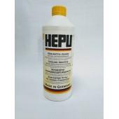 Охлаждающая жидкость HEPU концентрат желтый 1,5 л