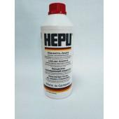 Охлаждающая жидкость HEPU концентрат красный 1,5 л