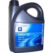 Масло 10W40 GM Motor Oil 5 л