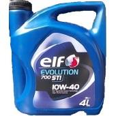 Масло 10W40 elf EVOLUTION 700 STI 4 л