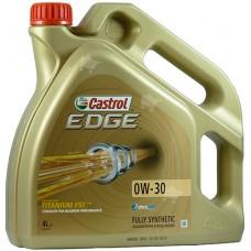 Масло 0W30 Castrol EDGE 4 л
