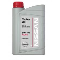 Масло 5W40 Nissan Motor Oil 1 л