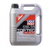 Масло 5w30 LIQUI MOLY 8031 TOP TEC 4300 5 л