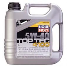 Масло 5w40 LIQUI MOLY 7547 TOP TEC 4100 4 л