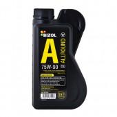 Масло 75w90 BIZOL  87220 Allround Gear Oil TDL 1 л